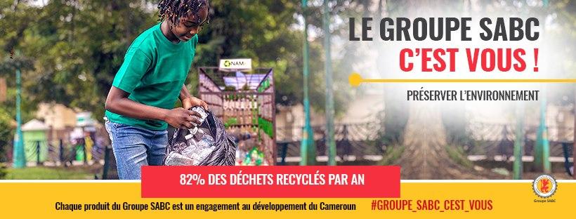 La Sabc recycle ses déchets solides. Crédit Photo: Groupe Sabc